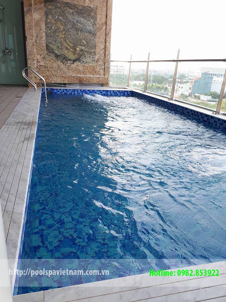 Bể bơi gia đình Hải Dương