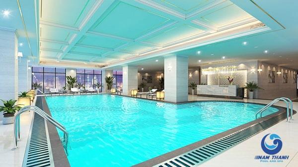 Công ty thi công bể bơi chuyên nghiệp - Ảnh 1