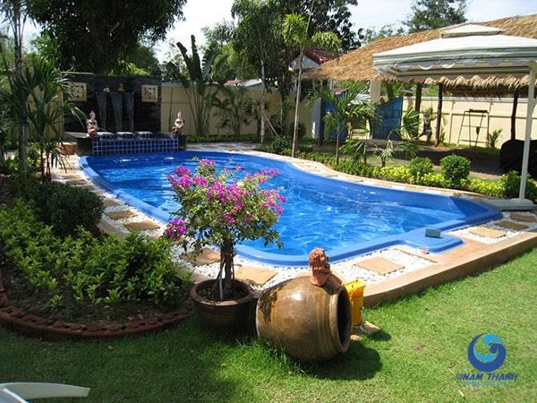 Công ty thi công bể bơi chuyên nghiệp - Ảnh 10