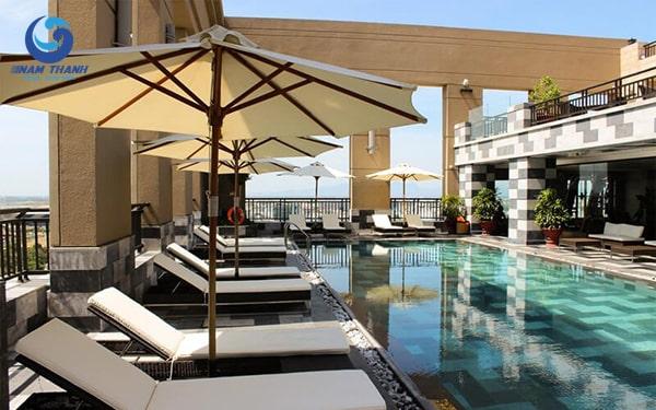 Thiết kế bể bơi khách sạn - Ảnh 2