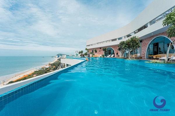 Thiết kế bể bơi khách sạn - Ảnh 5