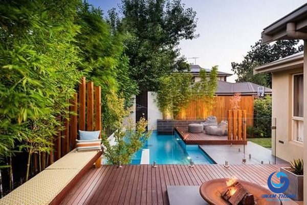 Thiết kế bể bơi ngoài trời - Ảnh 6