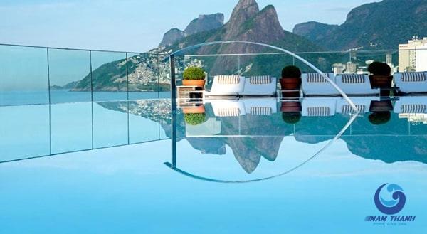 Thiết kế bể bơi trên sân thượng - Ảnh 10