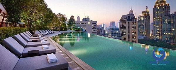 Thiết kế bể bơi trên sân thượng - Ảnh 7