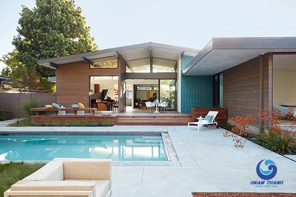 Thiết kế biệt thự có bể bơi - Ảnh 7