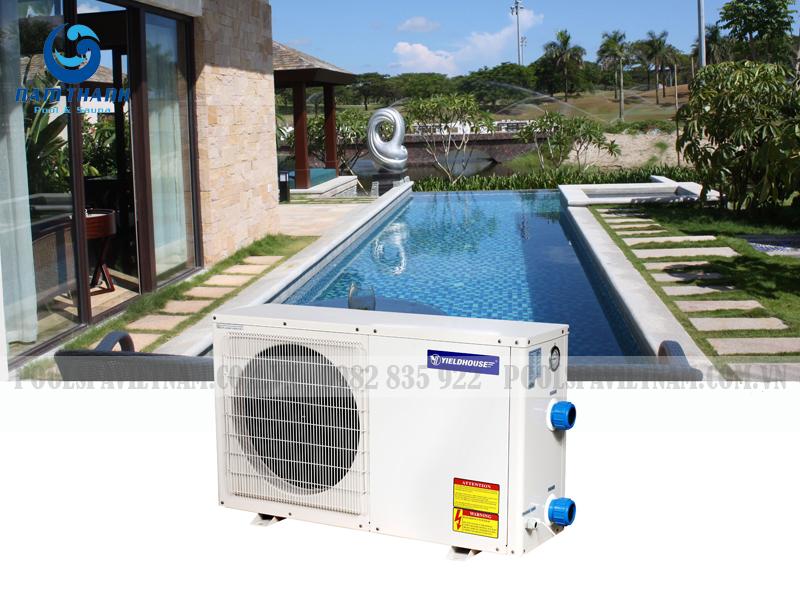máy bơm nhiệt bể bơi ybpa1